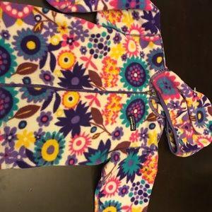 3t Patagonia girls fleece zip up